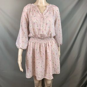 Delias floral dress size small